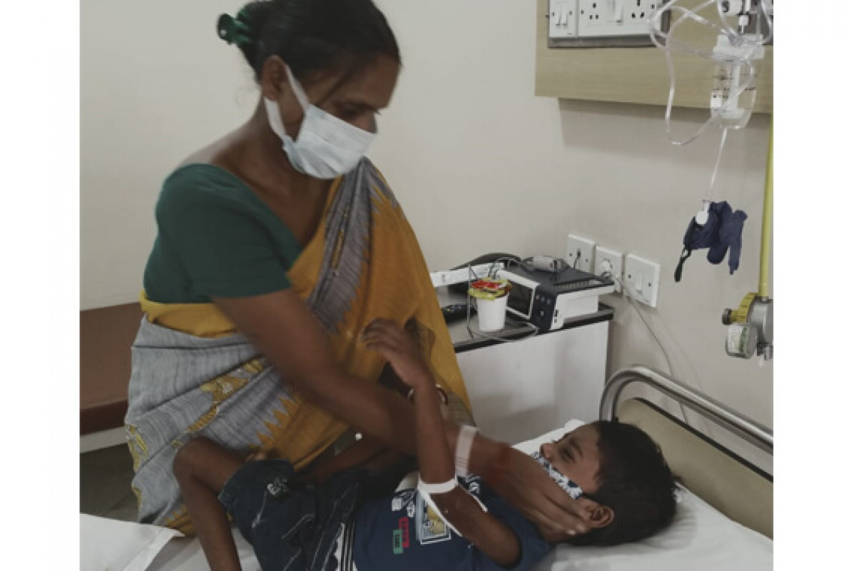 Subhadip, a 3 year old boy is suffering from Pre B Acute Lymphoblastic leukemia. Please support his treatment