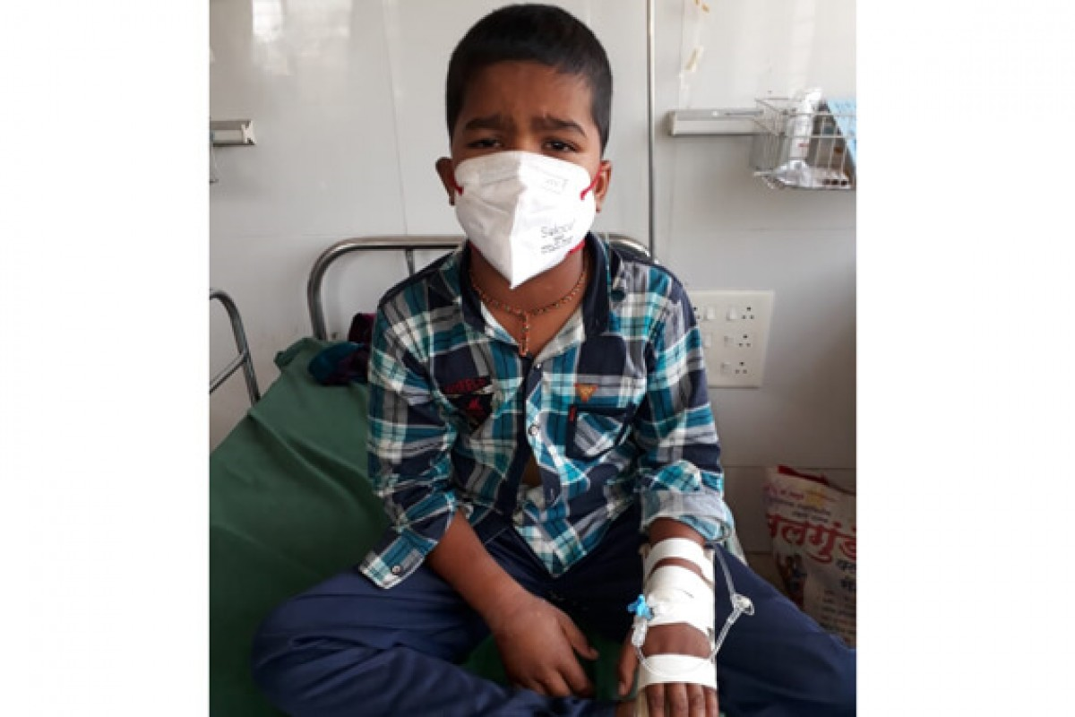 Sarthak Thombre is suffering from acute lymphoblastic leukemia. He needs to undergo Chemotherapy. | Please help for his treatment....