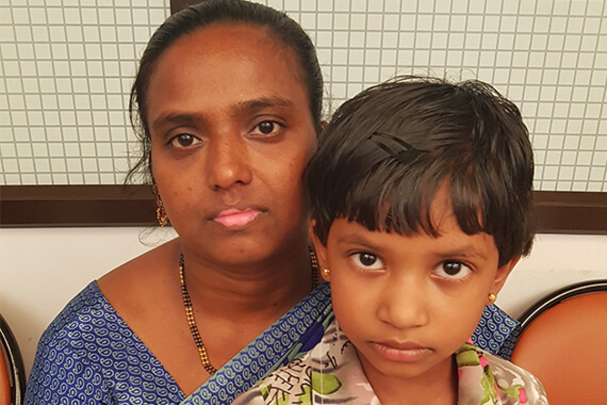 Jecintha is suffering from heart  disease please help her in this fight .